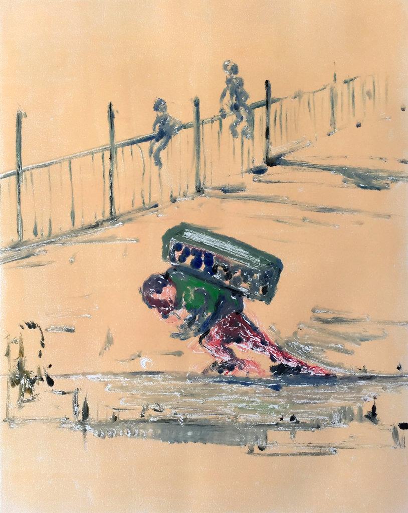Burden (after Daumier)